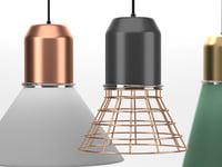 3D bell light model