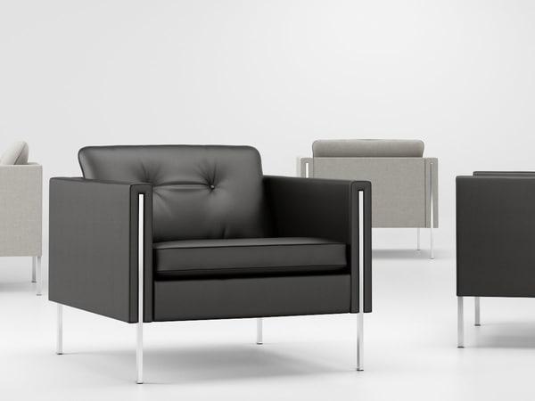 3D model andy armchair