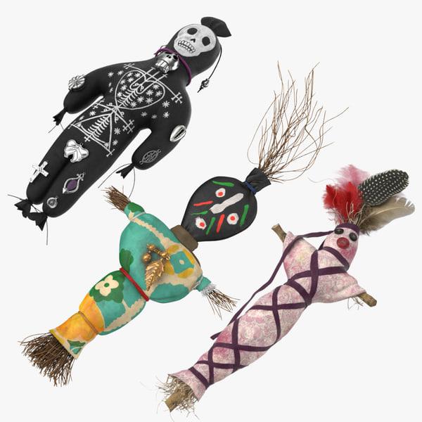 voodoo dolls model