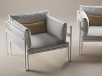 jian armchair 3D model