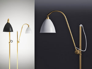 3D bl3 floor lamp