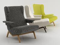 archi armchair 3D model
