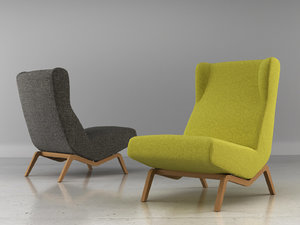 archi easy chair 3D