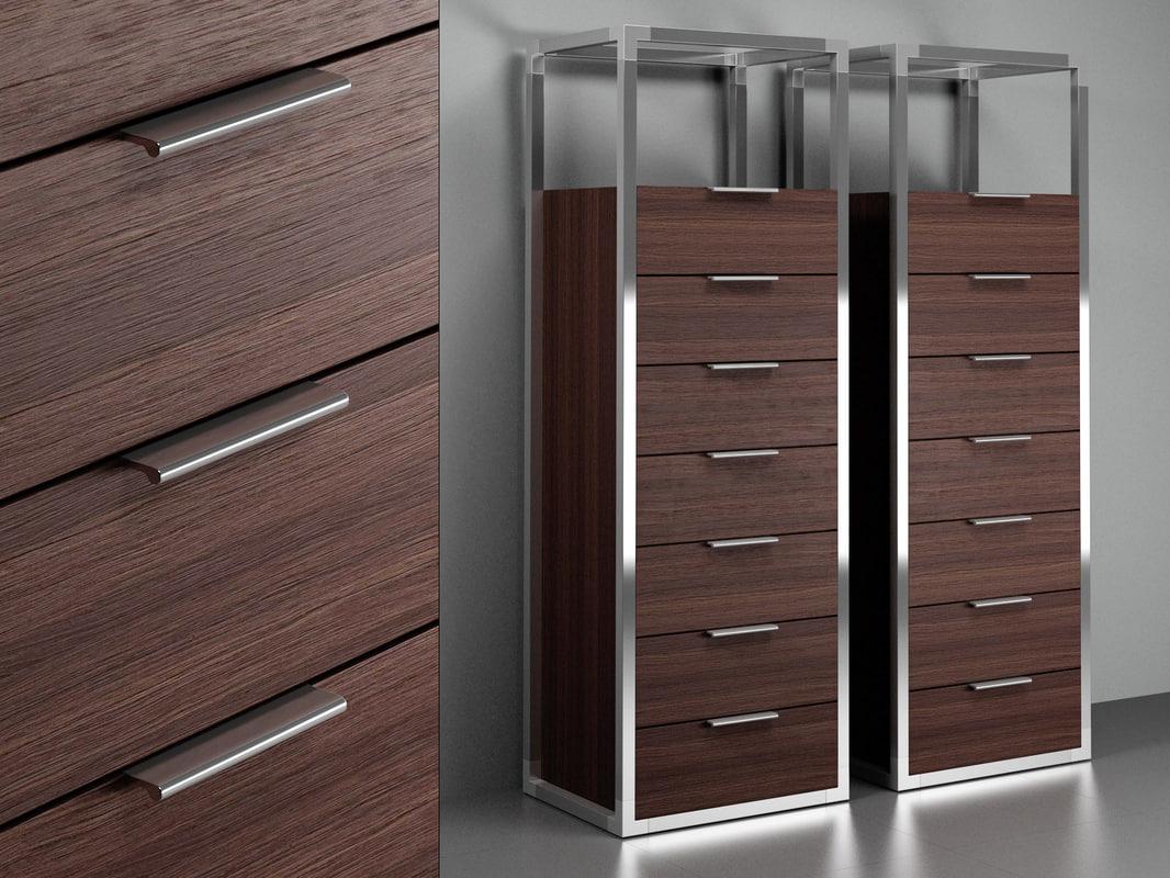dedicato drawer chest 3D model
