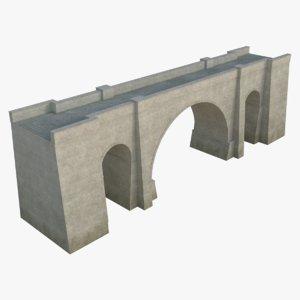 stone bridge 3D