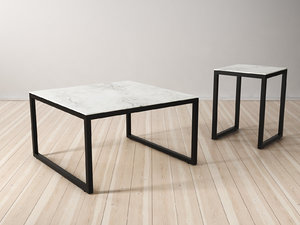 iso tables 3D model