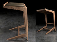 curtis stool 3D model