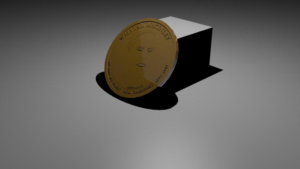 3D coin mckinley