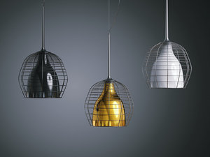 3D cage suspension lamp