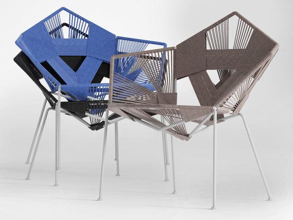 3D cod easy chair