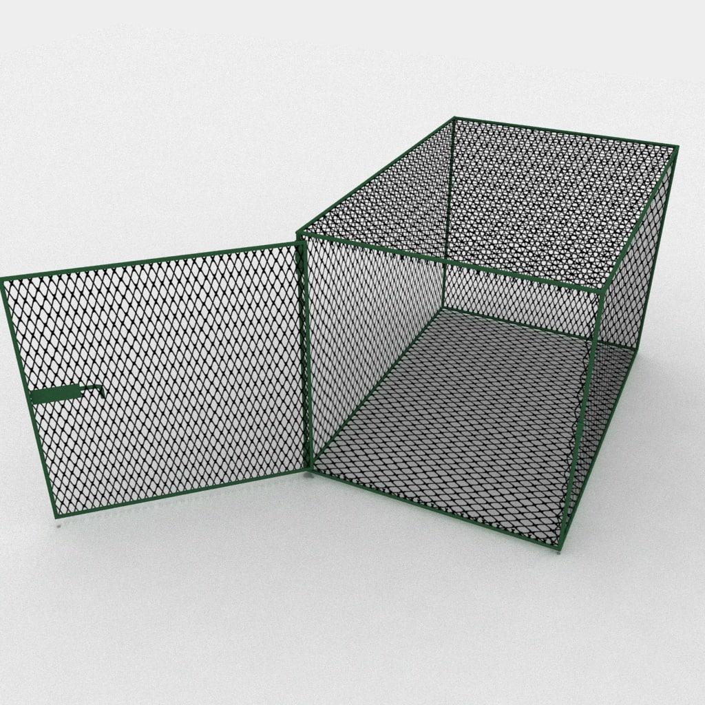 animal cage 3D model