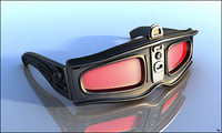3D glasses sun sci-fi