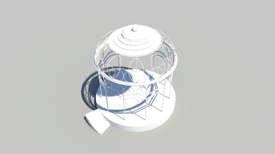 hobbit dome 3D model