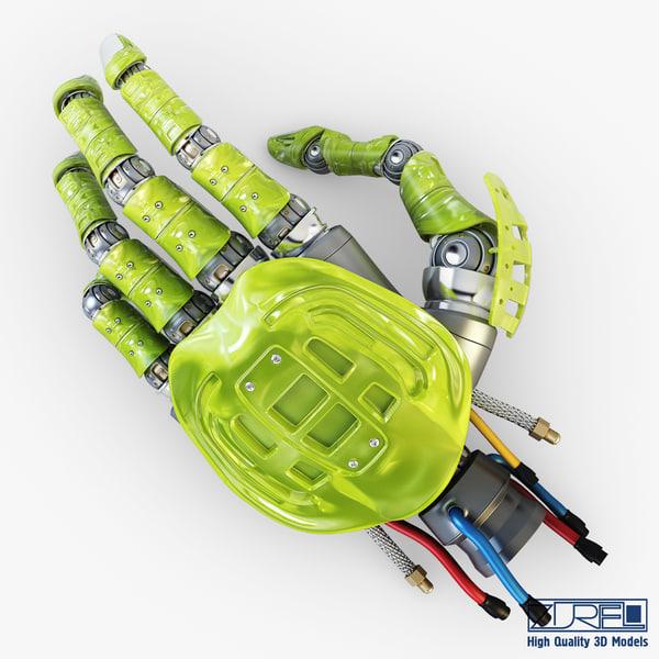 bio robotic hand v 3D