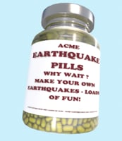 3D acme earthquake pills