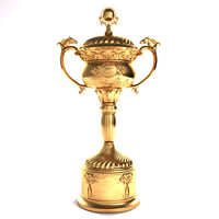 3D ascot cup model