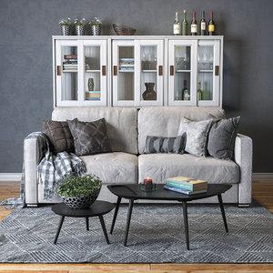 pohjanmaan torino sofa 3D model