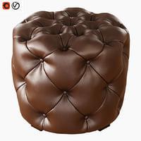 3D pouf hugo capitone
