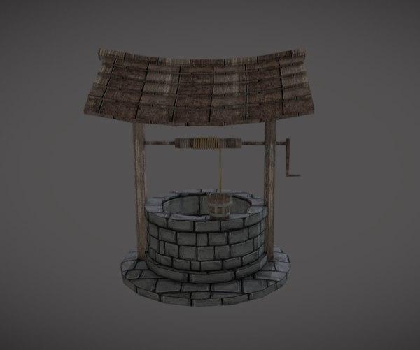 water 3D model