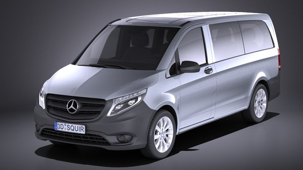 mercedes-benz tourer 2017 3D model