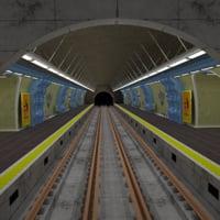 Metro station Paris