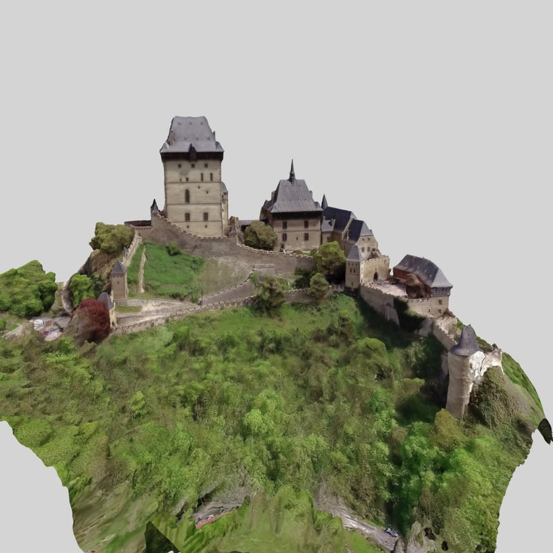 3D model scan