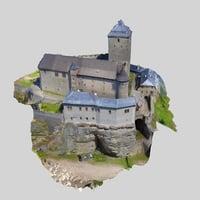 3D scan model