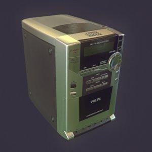 micro philips mc118 3D model