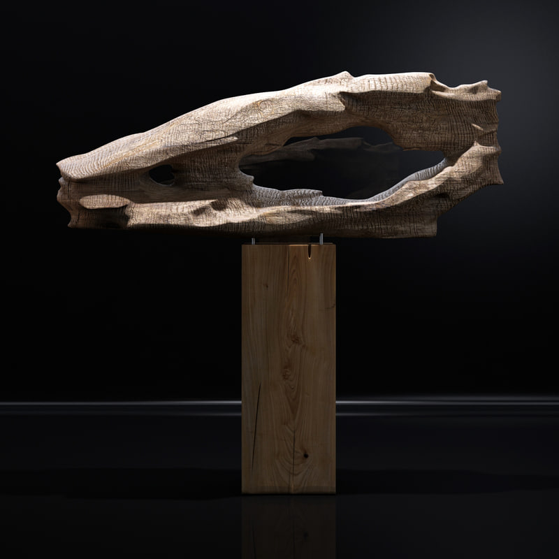 3D model teak sculpture