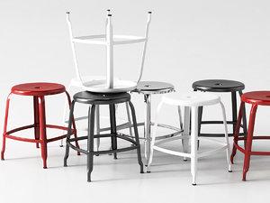 n stool 45 3D model