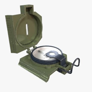 compass military 3D model