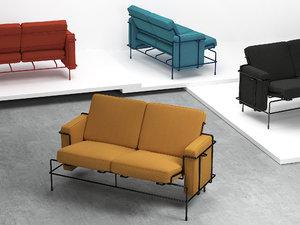 3D traffic sofa