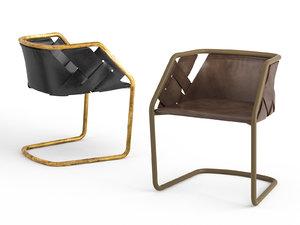 strip chair model