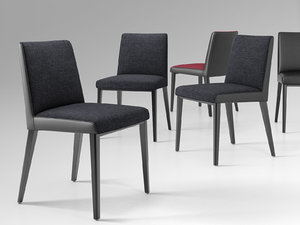 3D model william chair