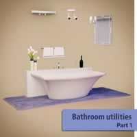 Bathroom utilities pack 01