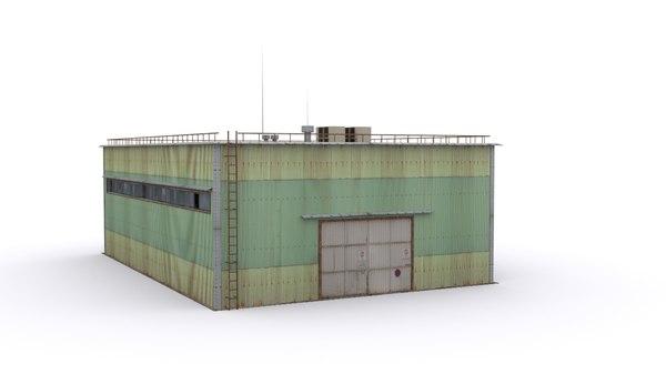 3D industry building