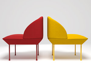 3D oslo chair