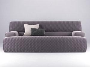 rios ego sofa 210 3D model