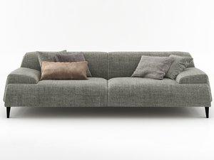 cave sofa 240 3D model