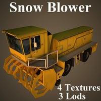 3D snow blower kodiak