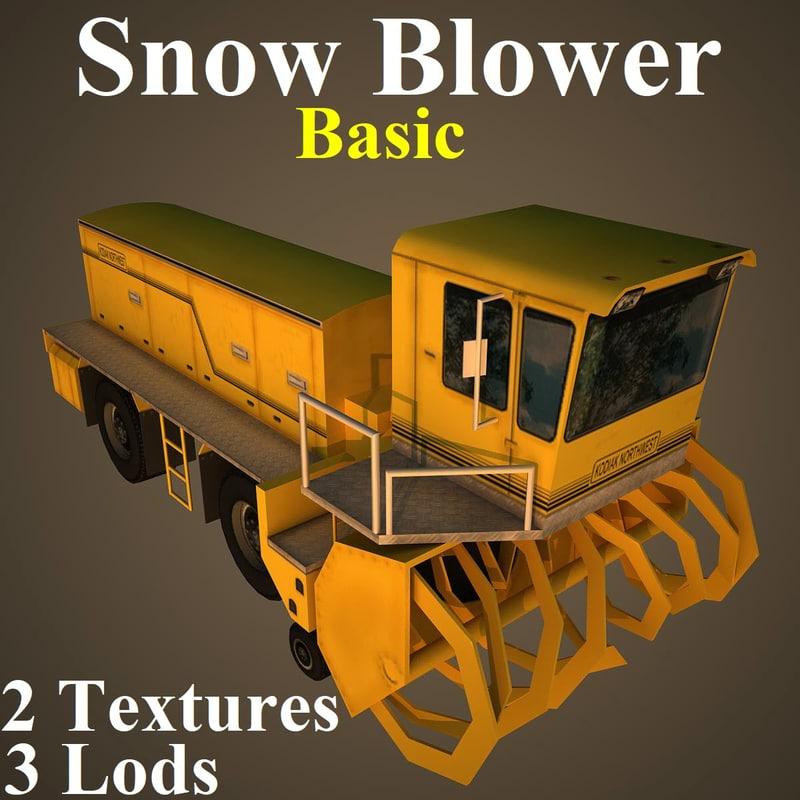 snow basic 3D