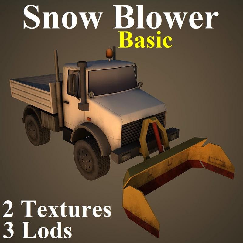 snow basic model