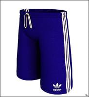 3D shorts sport t model