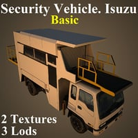 security basic 3D model