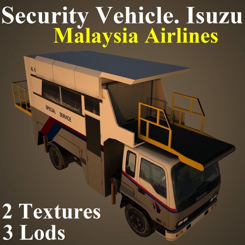 3D security mas model