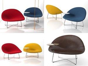 lounge chair n 3D model
