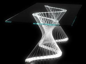 ripple table 3D model