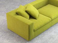 3D land sofa 220 model