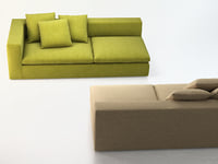 land end sofa 3D
