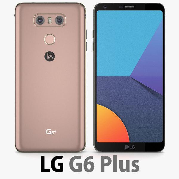 3D model lg g6